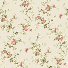 Casabella II BA4516 Floral Trail Wallpaper - indoorwallpaper.com