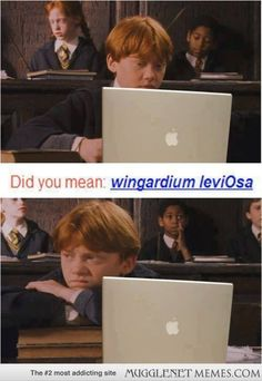 LOL aww. Gotta love Ron! harry potter