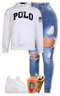 """""""Tell dem hoes how we comin"""" by j2prettyy on Polyvore featuring Polo Ralph Lauren"""