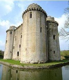 Nunney Castle, Somerset, UK