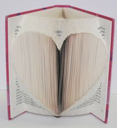 Big Heart in Book Origami by JoNomi