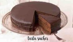 Sacher cake with Thermomix - Thermomix Recipes Sweet Recipes, Cake Recipes, Dessert Thermomix, Afternoon Tea, Chocolate Cake, Food And Drink, Favorite Recipes, Yummy Food, Sweets