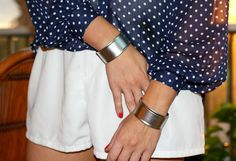 The simpelest DIY that will leave you with the most amazing end results! DIY Double Cuff Bracelet