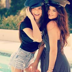Having a sister is like having a best friend you can't get rid of ❤ - kylie jenner