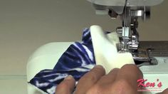Brother Side Cutter Sewing Machine Attachment Demonstration