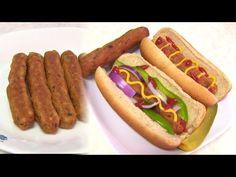 Homemade Vegan HOT DOG |  #Vegan & #Glutenfree