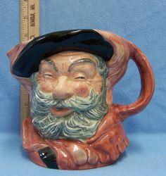 Vintage Royal Doulton Toby Mug Jug Sir John Falstaff Character Pottery D 6287 | eBay