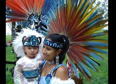 Aztec dancers.