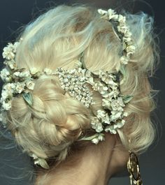a rolling stone (highqualityfashion: Hair at Dolce & Gabbana SS...)
