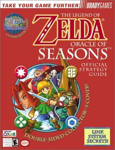 The Legend of Zelda: Oracle of Seasons & Oracle of Ages Official Strategy Guide « Library User Group
