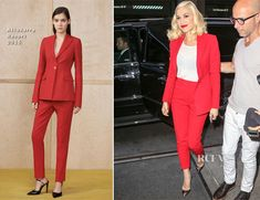 Gwen Stefani In Altuzarra - The Today Show - Red Carpet Fashion Awards