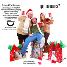 The ads, which all live on the DoYouGotInsurance.com website, are a collaboration between Colorado Consumer Health Initiative and ProgressNo...