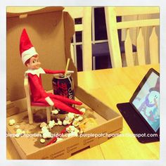 The Purple Patch: Welcome back, Waldo, our Elf on the Shelf