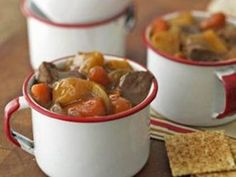 1 lb Beef Stew Meat, cut in cubes 1 lb Baby Carrots Medium Potatoes 1 Medium Onion 2 pkgs Mccormick Brown Gravy 1 pkg Mccormick Beef Stew Seasoning hours on high in a crockpot. So yummy. Beef Stew Crockpot Easy, Healthy Crockpot Recipes, Beef Recipes, Soup Recipes, Cooking Recipes, Healthy Food, Crock Pot Cooking, So Little Time, Recipes