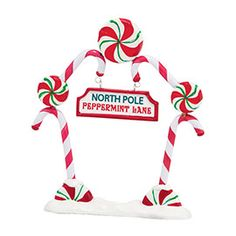 """Department 56: COLLECTING - """"Peppermint Gate"""" - New Introductions"""