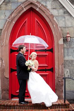Photos for the red door in front of church