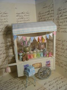 Boutique de Bonbons Miniature Shabby Sweet by pixiestyxminiatures