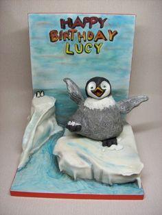 Happy Feet Matilda Cake 1st Birthday Party Themes Cakes Unique