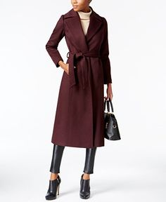 Forecaster Maxi Wrap Coat - Coats - Women - Macy's