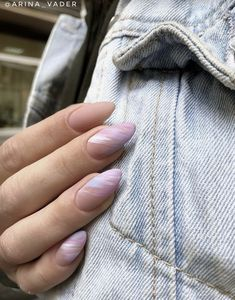 76 jelly nails trends ideas to inspired soul page 00042 Stylish Nails, Trendy Nails, Cute Nails, Minimalist Nails, Nail Manicure, Manicures, Acrylic Nail Designs, Acrylic Nails, Pink Nails