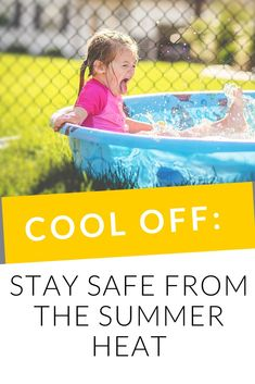 The summer is here! For your kids, that means being outside all day, swimming in the pool, and playing on the playground. Here are some ways to stay safe from the summer heat. Summer Safety Tips, Water Activities, Family Activities, Water Safety, Baby Swimming, Swim Lessons, Wear Sunscreen, Summer Is Here, Newborn Care