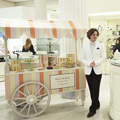 Sugar & Spice Bespoke Dessert Cart #sugarandspice