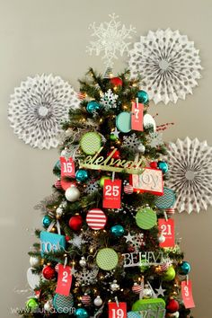 Beautiful #Advent #Christmas Tree