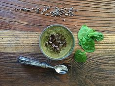 Coffee & Cacao Magic Superfood Smoothie Recipe.   For all you coffee and chocolate lovers, this superfood smoothie combines the best of both worlds! Hannah Guthman kindly shared her recipe for this oh-so-yummy green breakfast drink that's chock-full of vitamins, minerals, fiber, and protein.