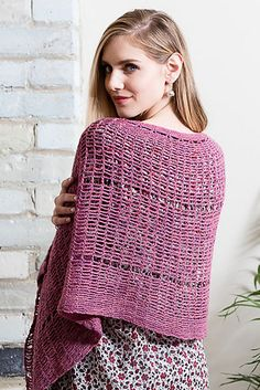 Ravelry: Hammock Shawl pattern by Lisa Doherty