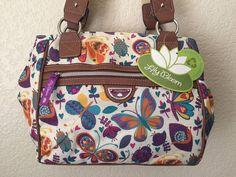 LILY BLOOM Butterflies & Bugaboos Priscilla Satchel Women Handbag Purse #LilyBloom #ShoulderBag