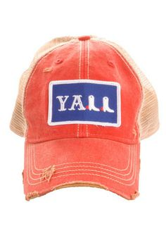 Y'all Hat – Judith March!!!    I love this! Perfect for Summer Concerts