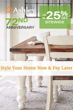 Need New Furniture? Buy Now, Pay Later At Ashley Home Storeu0027s Anniversary  Sale!