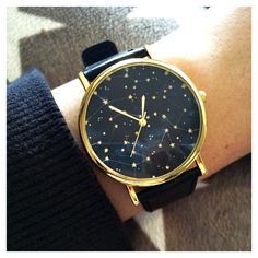 Constellation shows sky full of stars Style by Free .- Constellation montre ciel plein d& Style par FreeForme, Constellation shows sky full of stars Style by FreeForm, # - Fashion Night, Star Fashion, Fashion Men, Fashion 2017, Cool Watches, Watches For Men, Cheap Watches, Women's Watches, Watches Online