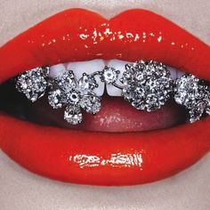 We always love to find new places to wear diamonds... Would you bling your street style? www.incredibleyou.co.uk