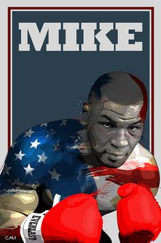 Mike Tyson Art Print by Ciaran Monaghan, via Behance Boxing Live, Boxing Gym, Mike Tyson Boxeo, Boxe Fight, Cuadros Star Wars, Boxing Posters, Creation Art, Boxing Champions, Sports Art
