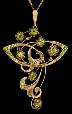 Demantoid Garnet. Very rare and EXPENSIVE, even if you can find stones large and clean enough.