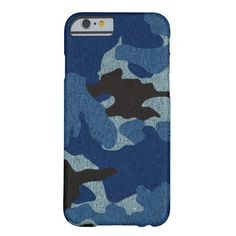Faux Cloth Blue Camo Military Slim iPhone 6 Cases Barely There iPhone 6 Case  See slim iphone 6 cases you will love http://www.zazzle.com/cuteiphone6cases/slim+iphone+6+cases?dp=252325260711535220&ps=120&rf=238478323816001889&tc=pinslimiphone6cases&pg=2