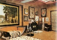 love this room ... Eileen Gray for Doucet designmuseum.org