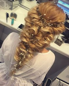Wedding hairstyle by Micu Nicoleta Accessories Mioara Fulga Buda