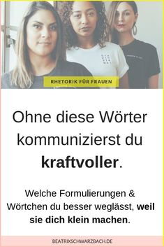 Wörter weglassen – kraftvoller kommunizieren Especially women make themselves small by speaking through their words: however, you can stop it at any time through awareness. Logo Design Trends, Brand Identity Design, Rustic Letters, Mental Training, Pop Culture References, Hanging Photos, Friends Tv Show, Psychology Facts, Public Speaking