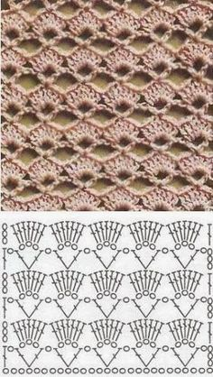Blockieren Sie selbstgemachten Perlenschmuck und anderes Kunsthandwerk Knitting Techniques techniques used in knitting Crochet Motifs, Crochet Tunic, Crochet Diagram, Crochet Stitches Patterns, Crochet Chart, Crochet Squares, Love Crochet, Diy Crochet, Crochet Designs