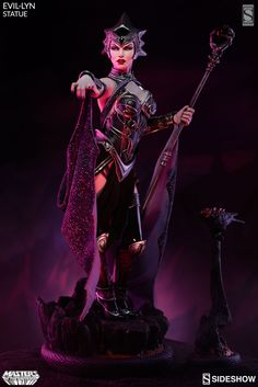 Masters of the Universe Evil-Lyn Statue by Sideshow Collectibles