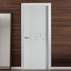 The beautiful prefinished San Rafael Lacada 908 FD30 Fire Door with flush designs. #directdoors #lacadadoors
