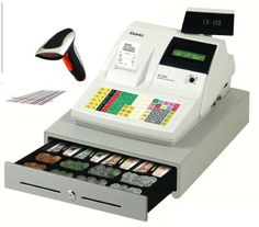 toy cash register with scanner and belt | brand new cash register with scanner