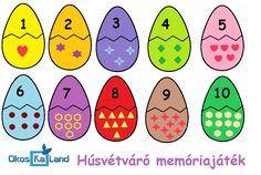 Képességfejlesztés :: OkosKaLand Emotions Preschool, Numbers Preschool, Easter Activities, Math Activities, Preschool Activities, School Decorations, Happy Kids, Kids Education, Kids Learning
