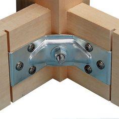 Buy Hafele Corner Brace, Table Leg at Woodcraft.com