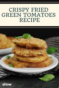 In the Southern United States, crispy fried green tomatoes are a popular side dish, and it's easy to see why. They're crunchy, tangy and full of flavor.