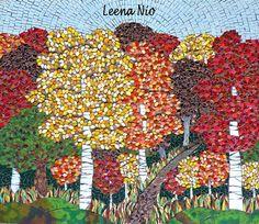 MOSAIIKKI  LEENA NIO - MOSAIQUE MAGIQUE: Autumn forest