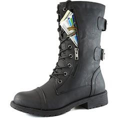 DailyShoes Women's Military Combat Lace up Mid Calf High Credit Card Knife Money Wallet Pocket Boots, http://www.amazon.com/dp/B00M7FMPRW/ref=cm_sw_r_pi_awdm_FpiCvb1ADBMA6