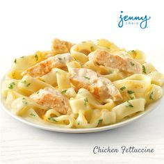 A classic Jenny Craig meal, and a Kirstie Alley favorite, you cannot go wrong with our Chicken Fettuccine!